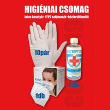 Higiéniai csomag - KN95 FFP2-es 5 rétegű szájmaszk