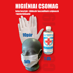 Higiéniai csomag - Saját gyártású egészségügyi szájmaszk