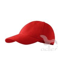 Baseball sapkak 6P, piros