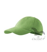 Baseball sapkak 6P, borsó zöld