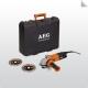 AEG 1100 W egykezes sarokcsiszoló, 125 mm szett WS 11-125 set