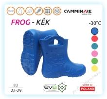Frog, EVA gyerek csizma, kék