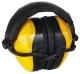 MAX 510 sárga fültok, összecsukható, állítható speciális műanyagpántokkal (SNR 30dB)