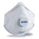 Uvex Classic FFP1D NR  formázott, szelepes részecskeszűrő maszk