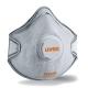 Uvex Classic FFP2D NR  formázott, szelepes, aktívszenes maszk (+szerves gőzök MK értékig)