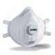Uvex Classic FFP3D NR  formázott, szelepes részecskeszűrő maszk