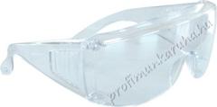 1003 Védőszemüveg, 100% polikarbonát, lencséje víztiszta polikarbonát
