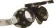 1013 Hegesztő szemüveg, hőálló alumínium keret, felújítható lencse