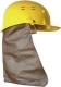 Tarkóvédő, oldalvédelmet is biztosít, alapanyaga pamut, műbőr, bőr