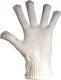 2232 Duplán hurkolt poliamid kesztyű, gumis mandzsettával