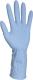 2295 Kék fólia kesztyű, 50 mikron vastagság női méret 8-as