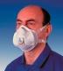 FFP-3D szelepes légzésvédő finom részecskék,olaj- vagy vízbázisú ködök és fém füstök ellen
