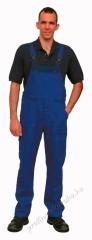Classic Kantáros nadrág szanforizált 260gr 100%pamut, kopásálló 46-64 királykék színeben