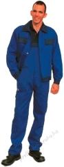 Classic Derekas nadrág, szanforizált 260 gr 100% pamut, kopásálló királykék színben