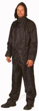 Esőöltöny, sav és lúgálló, poliamidra mártott lágy PVC, szellőző hát, sötétkék