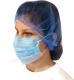 Jól szellőző nagy méretű polipropilén kék hajháló