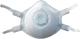 AFFINITY FFP-3 paneles pormaszk, nem allergén, a mérgek kategóriájába tartozó szilárd és folyékony részecskék ellen biztosít védelmet
