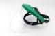 Homlokvédős arcvédő keret, 20x30cm, zöld