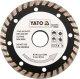 Gyémánt vágótárcsa 230 turbo YATO