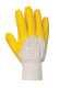Gristle latex kesztyű, sárga