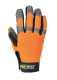 Comfort grip - NT védőkesztyű, narancs/szürke, Szintetikus bőr, Szilikon, Lycra, Spandex