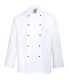 Cornwall séf kabát, fehér, Kingsmill, Texpel 65% poliészter 35% pamut 245g, Texpel
