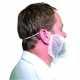 PP szakálvédő (100 db), fehér, Polipropilén