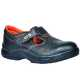 Steelite™ Ultra védőszandál, S1P, fekete, Hasított bőr, PU/PU