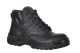 Atlanta csúszásmentes védőbakancs, S3, fekete, hasított bőr
