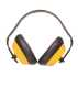 Hagyományos fülvédő, sárga, Hangelnyelő csésze & PVC párnák