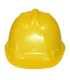 Endurance Plus védősisak, sárga, nagy szilárdságú ABS