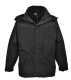Aviemore 3az1-ben férfi dzseki, fekete, 100% poliészter 160g PVC bevonattal