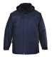Angus kabát, tengerészkék, 100% poliészter PVC bevont, 160g ujjak: nylon 60g, szövet 100g