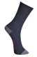 Lángmentes zokni, fekete, 40% Protex, 30% pamut, 30% FR poliészter