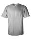 Ultra Cotton T, 205g, Ash-Hamuszürke kereknyakú póló