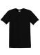 Heavyweight T, 185g, Black-Fekete kereknyakú póló