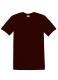 Heavyweight T, 185g, Maroon -Lilásbordó kereknyakú póló