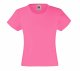 Girls Valueweight T , 160g, Fuschia- Fuschia szín