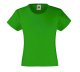 Girls Valueweight T , 160g, Kelly Green-Fű zöld
