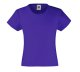 Girls Valueweight T , 160g, Purple-Lila