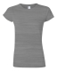 G 64000L Ladies' Fitted Ring Spun T sport grey L, 140g,  női póló