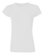 G 64000L Ladies' Fitted Ring Spun T white M, 140g,  női póló