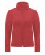 Hooded Softshell /women, Red-Piros