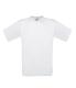 Exact 150, 145g, White-Fehér kereknyakú póló